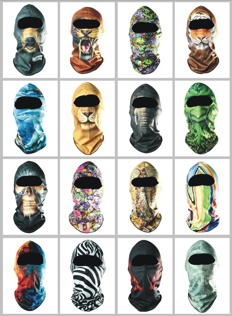 Promotion Free shipping 3D Outdoor Bicycle Bike Cycling Basketball Golf Ski Hood Hat Balaclava Snowboard Protect Full Face Mask(China (Mainland))