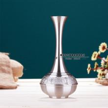 Tinwares gold medal fv24a vase tin gift lo(China (Mainland))