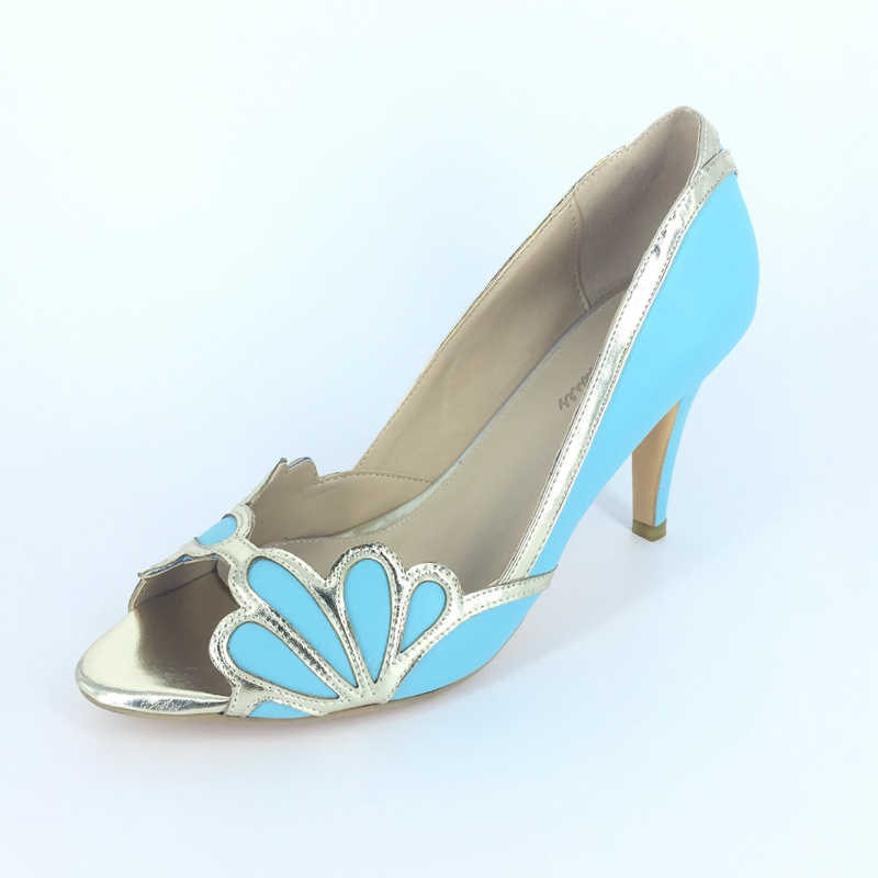 online buy wholesale light blue dress shoes from china