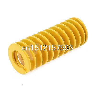 Yellow Chromium Alloy Steel Mould Flat Wire Compression Spring 27x13.5x65mm(China (Mainland))