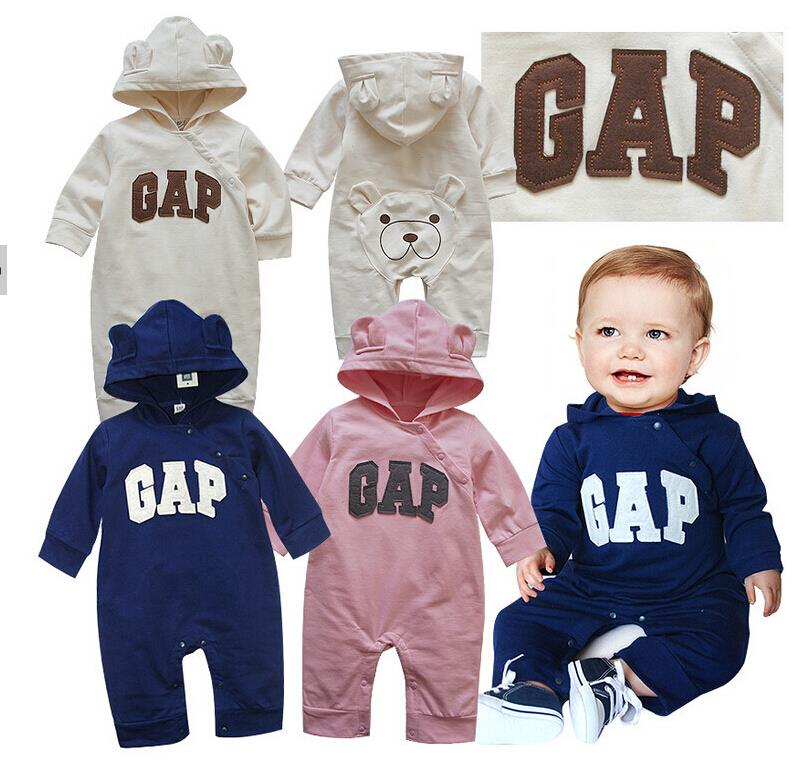 Baby Romper 2015 New Baby boys and girls Fall Winter clothes newborn warm Rompers Thickening coveralls Baby clothing A1-G3(China (Mainland))