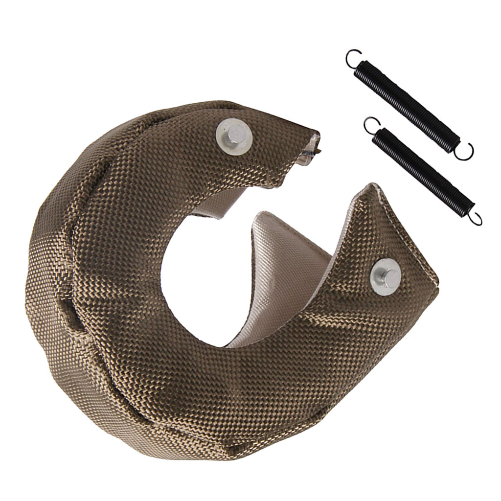 1 Set Universal Car T3 Turbo Charger Heat Shield Cover Blanket Glass Fiber Protection Wrap For T3 T25 / T28 / GT25 / GT28 Etc