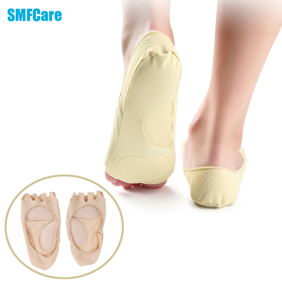 2Pcs/1Pair Five Toe Socks Arch Support Socks Summer Fish Head Sock Open-toed Foot Boat Slip Socks Pain Relief Foot Massager C598(China (Mainland))