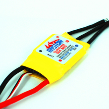 Mystery Cloud 50A brushless ESC w/2A BEC RC Speed Controller Brushless Motor RC Airplane Helicopter(China (Mainland))