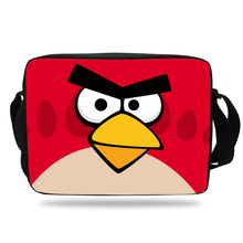 2017 kiks cartoon Game shoulder Bag For boys School Messenger Bag Angry Birds Print Bag Girls Teenager Children Book Bag(China (Mainland))