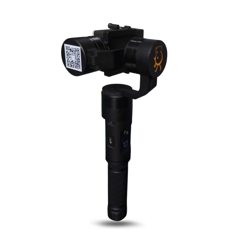 Newest XJJJ JJ-3 Sport Camera 3Axis Handle Gimbal Mount Support for Gopro 3/4 Xiaoyi Camera  vs DJI OSMO Free Shipping<br><br>Aliexpress