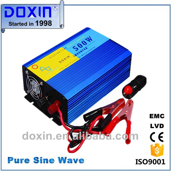 Attractive Price Chinese Mini Portable Off-Grid DC To AC Pure Sine Wave Inverter 500W 12V 220V For Solar Power System(China (Mainland))
