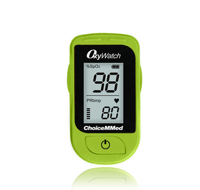 ChoiceMMed Green Finger Tip Pulse Oximeter Blood Oxygen SpO2 PR Heart Rate Monitor CE FDA TUV Approved Free Shipping MD300C15D