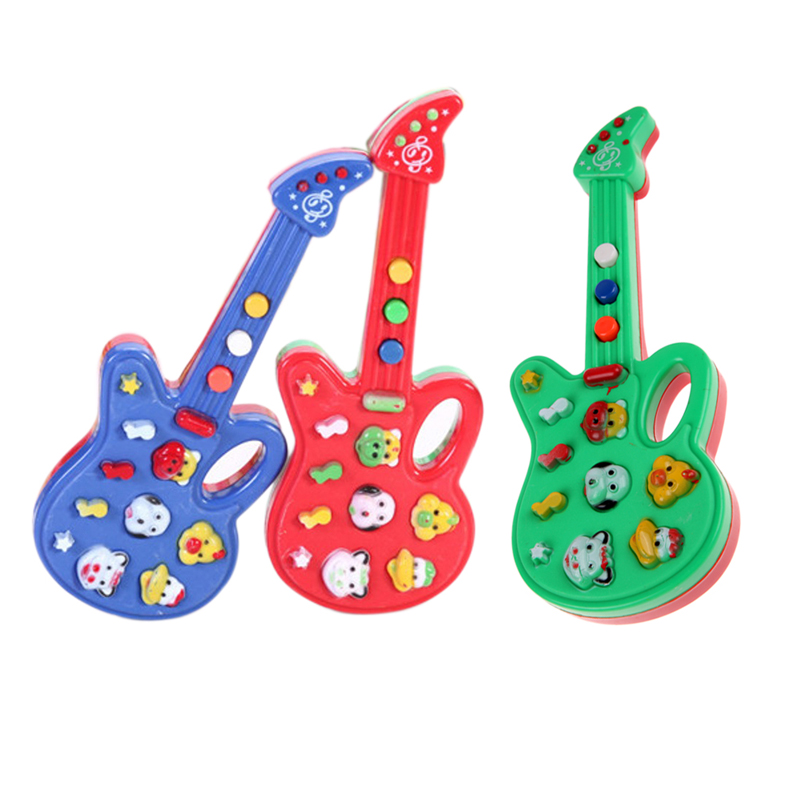 Child Baby Kids Foxy Electronic Guitar Rhyme Developmental Music Sound Toy Children's Music Gift Toy Musical Instrument FCI#(China (Mainland))
