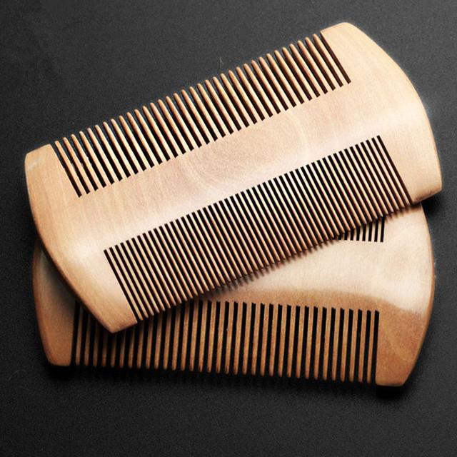 Шифрования решетка комбс персик Mushu двусторонняя щетка перхоти уход за волосами ...