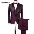 Men Suit 2017 New Designs Classic Wedding Business Personalized Suit Jacket Dress Pants Vests Waistcoat Blazer