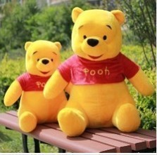 Free ship children/kid/baby pp cotton Stuffed Toy birthday gift doll  plush toys bear 39cm
