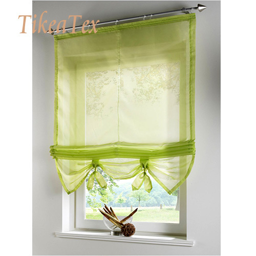 Free Shipping Mordern Curtains for Kitchen Balcony Sheer Curtains for Living Room Window Blinds Valance Cortina Ikea(China (Mainland))