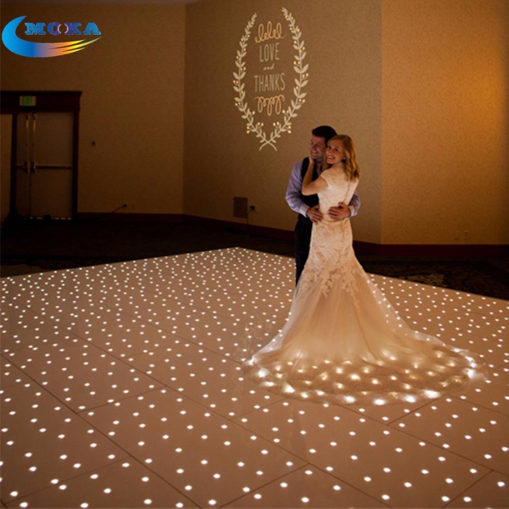 12x12 feet star light make dmx led dance floor disco dance for 12 by 12 dance floor