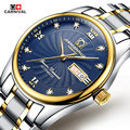 Automatic Watch Men Switzerland Watches Top Luxury Brand Watch Carnival Steel Strap Mechanical Watch Waterproof Relogio