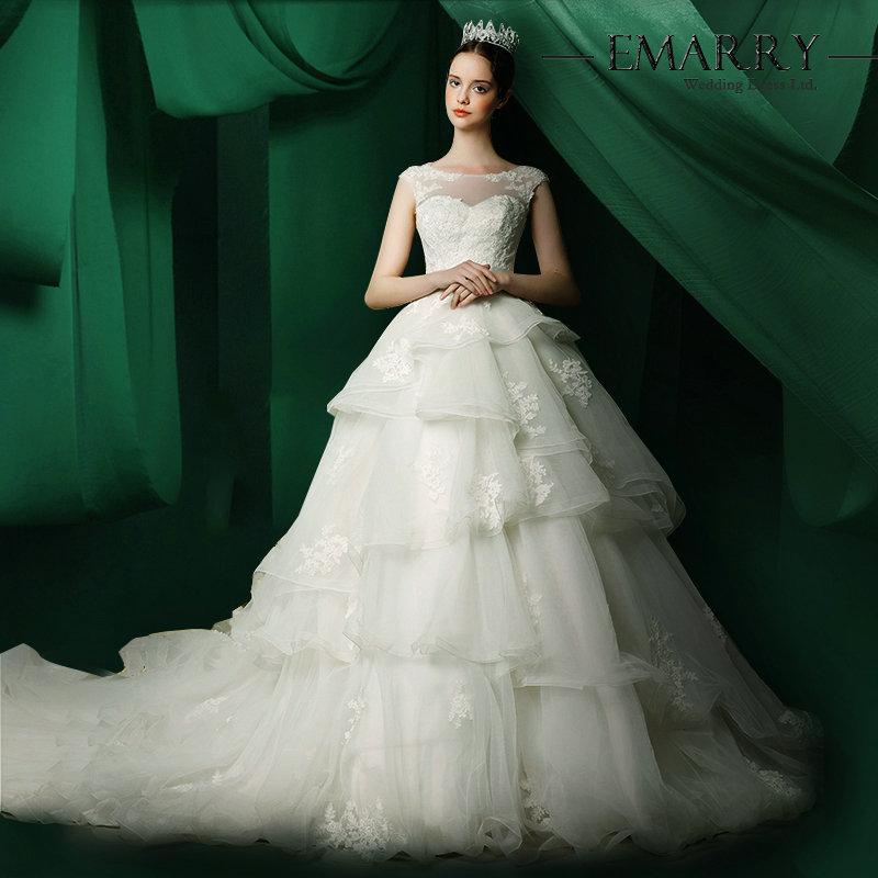 Sz230 best sell floor length ball gown wedding dress new for Best selling wedding dresses