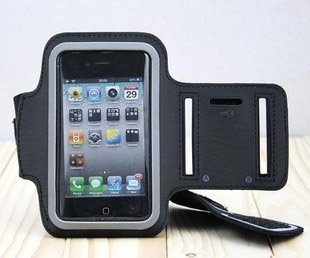 Solf Belt Sport Armband For iPhone 4S Colorful Arm Band For iPhone 4 3G 3GS Travel Accessory For iPod itouch Video FREE SHIPPING