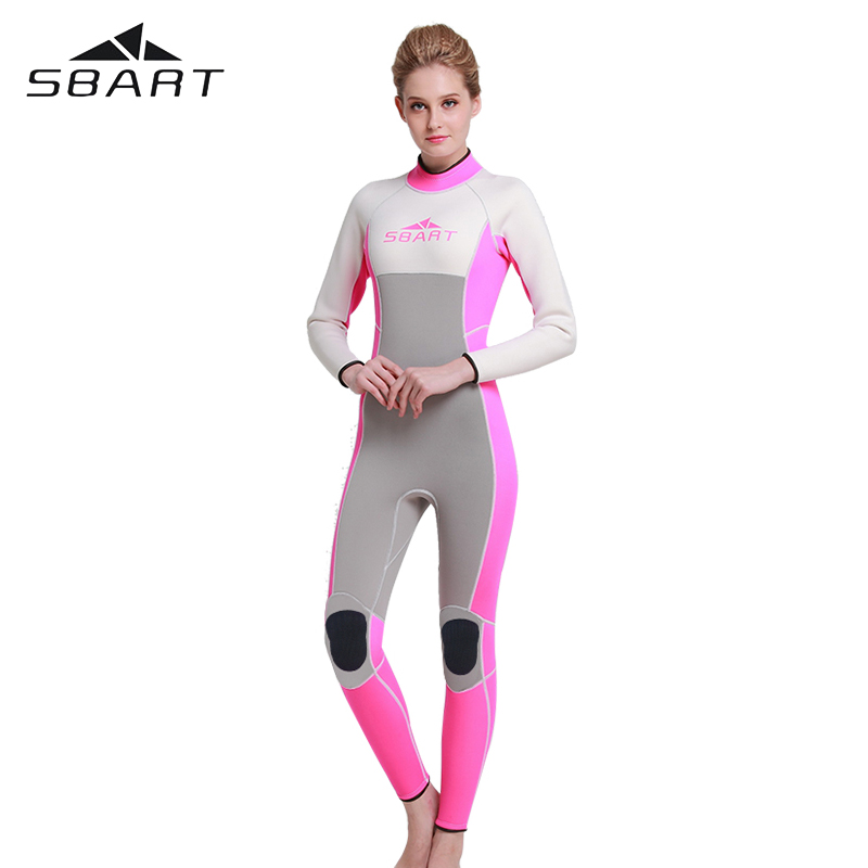 SBART 3MM Neoprene Men Womens Surfing Wetsuits Swimming Spearfishing Wetsuit Diving Suit Maillot De Bain Femme<br>