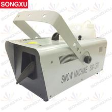 SONGXU 1500W DMX Snow Machine/Amazing Artificial snow maker snow equipment for stage/SX-SM1500A(China (Mainland))
