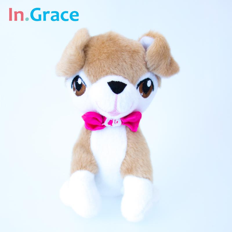 high quality plush toy dog lifelike animal stuffed toys baby gifts little dog soft 15cm mini dolls free shipping(China (Mainland))