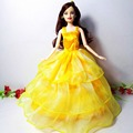 New Child Toys Ladies Present Doll Gown Authentic Doll Garments Stunning Handmade Get together Outfit Vogue Gown For Barbie Doll,YF-18