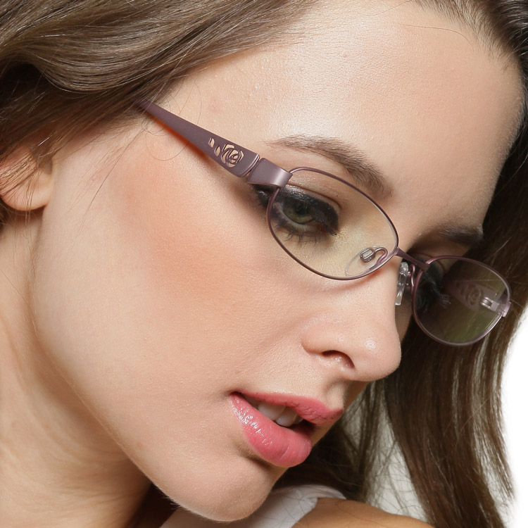 Titanium frames female glasses frame myopia Women ultra-light fashion box - Online Store 635416 store