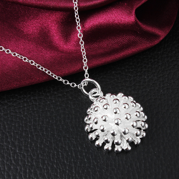 Silver Christmas gift! pendant necklace,high quality silver bullet necklace,fashion neckalce jewelry For Women Wedding(China (Mainland))