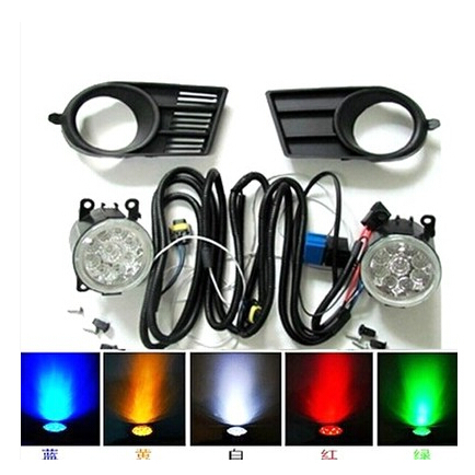 Chrome Fog lamps &amp; lamps Cover Moulding Trim Exterior For 2011-2012 SUZUKI SWIFT<br><br>Aliexpress