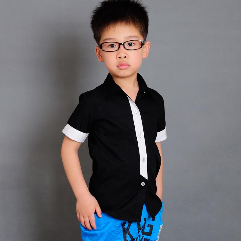 Рубашка для мальчиков camisa roupas infantis
