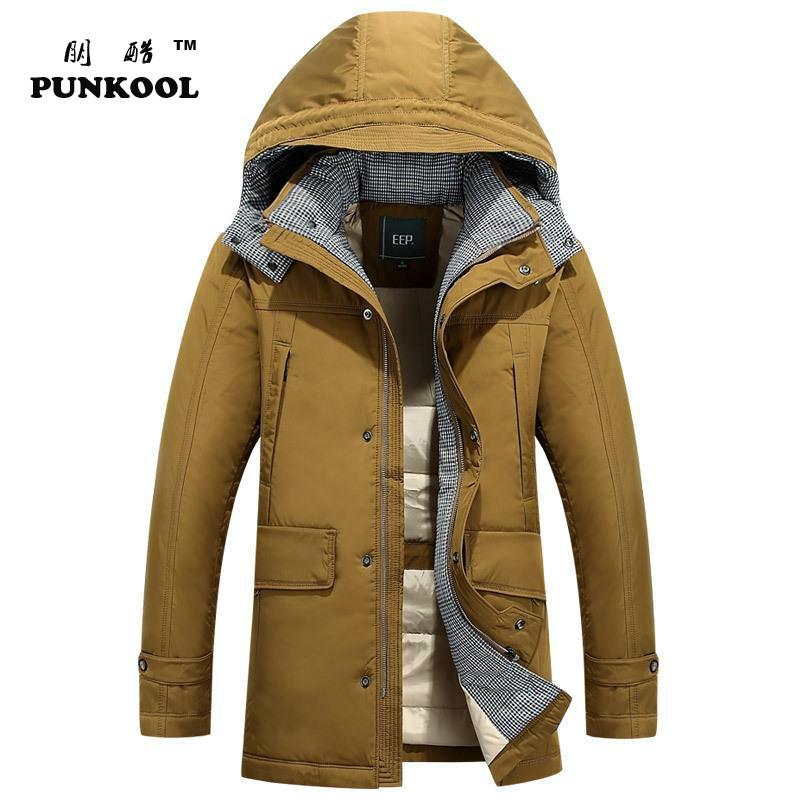 2015 Winter Jacket Men Long Down Jacket Outdoor Plus Size Men Down Coat Thick Warm Hooded Duck Down Jacket Overcoat  Parkas  248