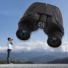 Nueva llegada Portable 10 X 25 HD114M / 1000 M prismáticos exterior turismo óptica ocular deportes exterior prismáticos con lleva el bolso