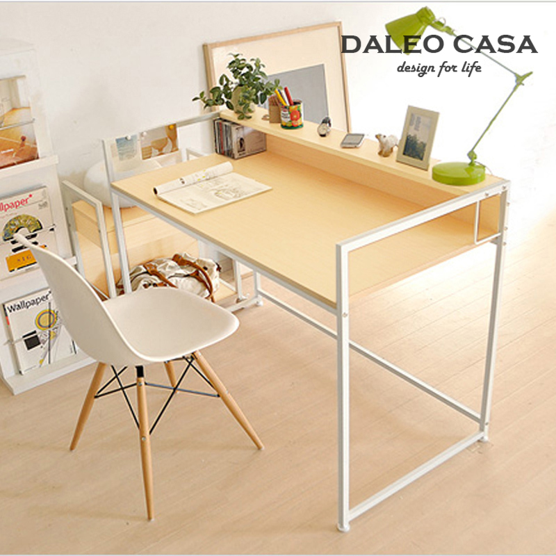 Hot Nordic IKEA IKEA style desk computer desk table book fashion designer desk 1.2 m(China (Mainland))