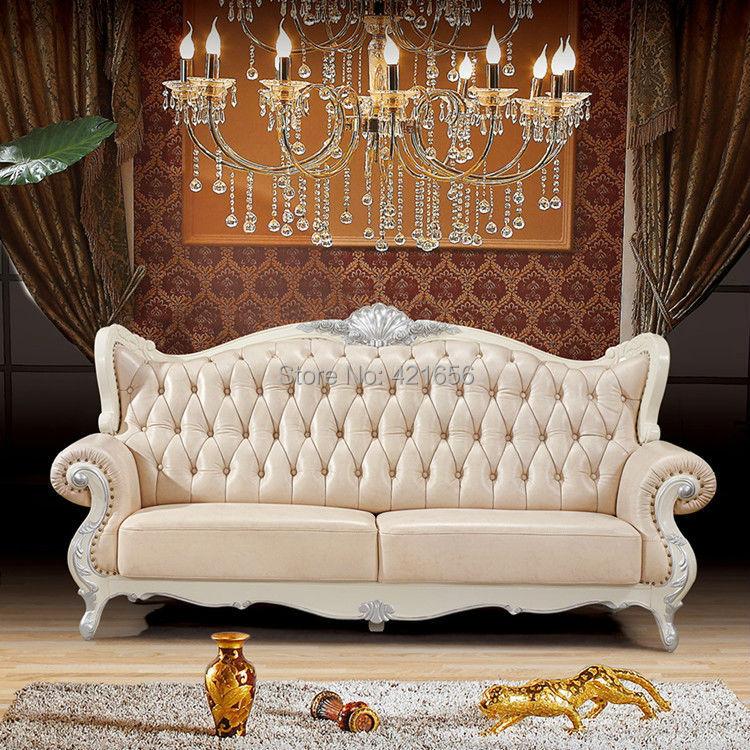 Achetez en gros canap classique en ligne des grossistes canap classique c - Canape cuir classique ...