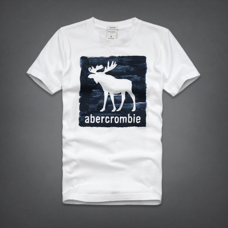 real AF NOT Anjoy&Fitch Brand Casual T Shirt The big deer 2 Tops & Tees Summer Men T-shirt Sport T Shirt Men Fitness Clothing(China (Mainland))
