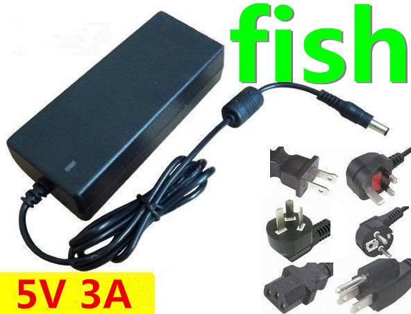 DC 5V 3A power supply AC 100-240V 15W switch power supply power adapter charger 20pcs/lot(China (Mainland))