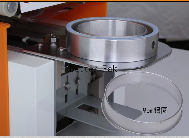 2019 Et 95sn Table Type Automatic Cup Sealing Machine Milk