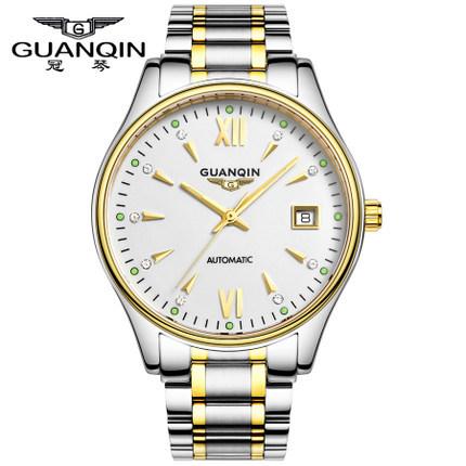 Здесь можно купить  Original GUANQIN Men Watches Top Brand Luxury Automatic Mechanical casual Sapphire Luminous men