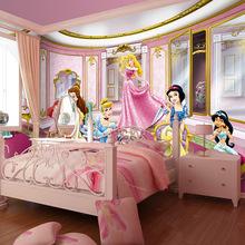 papel de paredeSeamless fairy princess between large mural wallpaper wallpaper ktv package child girl bedroom hotel theme rooms(China (Mainland))