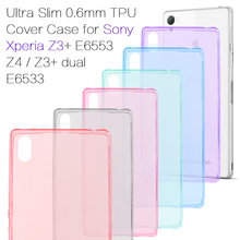 Buy Case Sony Xperia Z3 Plus dual E6533 Ultra Slim 0.6mm TPU Phone Cover Sony Xperia Z3+ / E6553 Z4 / Z3+ dual E6533 Shell for $1.46 in AliExpress store