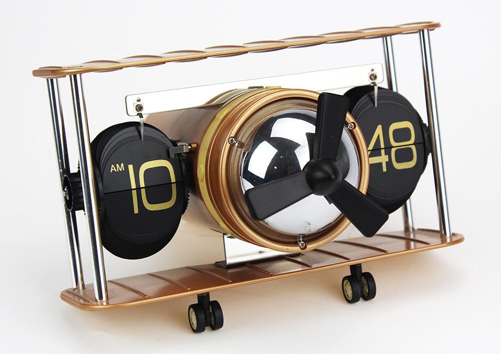 fighter wall table flip clock j2