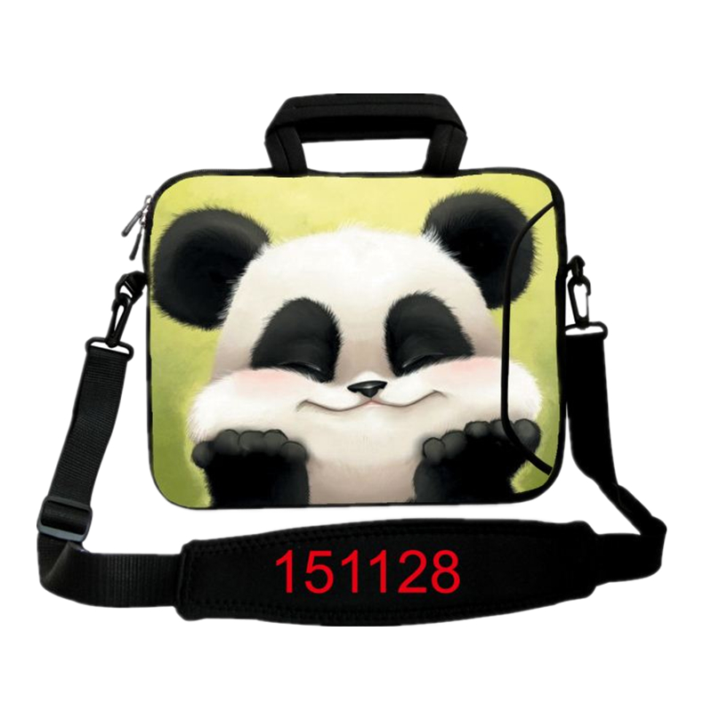 10 39 39 12 13 14 15 17 tablet pc portable panda laptop bag notebook case cover sleeve shoulder. Black Bedroom Furniture Sets. Home Design Ideas