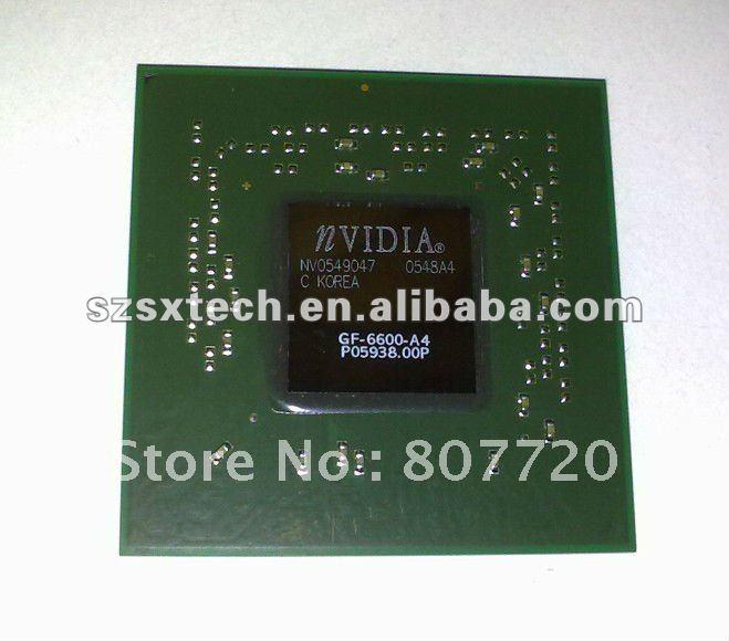 100% Brand New original balls nvidia Geforce GF-6600-A4 GPU BGA chipset ic chips for laptop(China (Mainland))