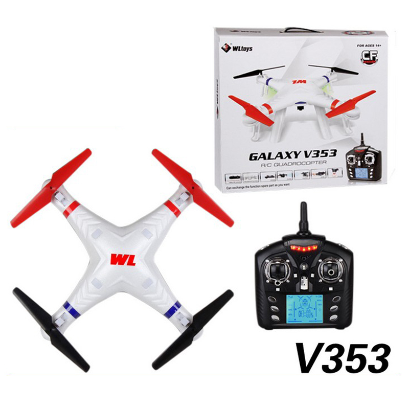 6-Axis Quadcopter with camera 1080P HD 2.4GHz 4CH RC Helicopter dron drone,about 150Meters Remote distance,WLtoys galaxy V353(China (Mainland))