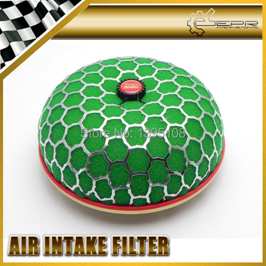 Green 80mm Super Power Air Filter Intake Flow Reloaded Replacement UNIVERSAL JDM <br><br>Aliexpress