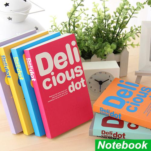 Delicious dot notebook Candy color soft copybook diary book Portable agenda stationery caderno escolar School supplies 6466<br><br>Aliexpress