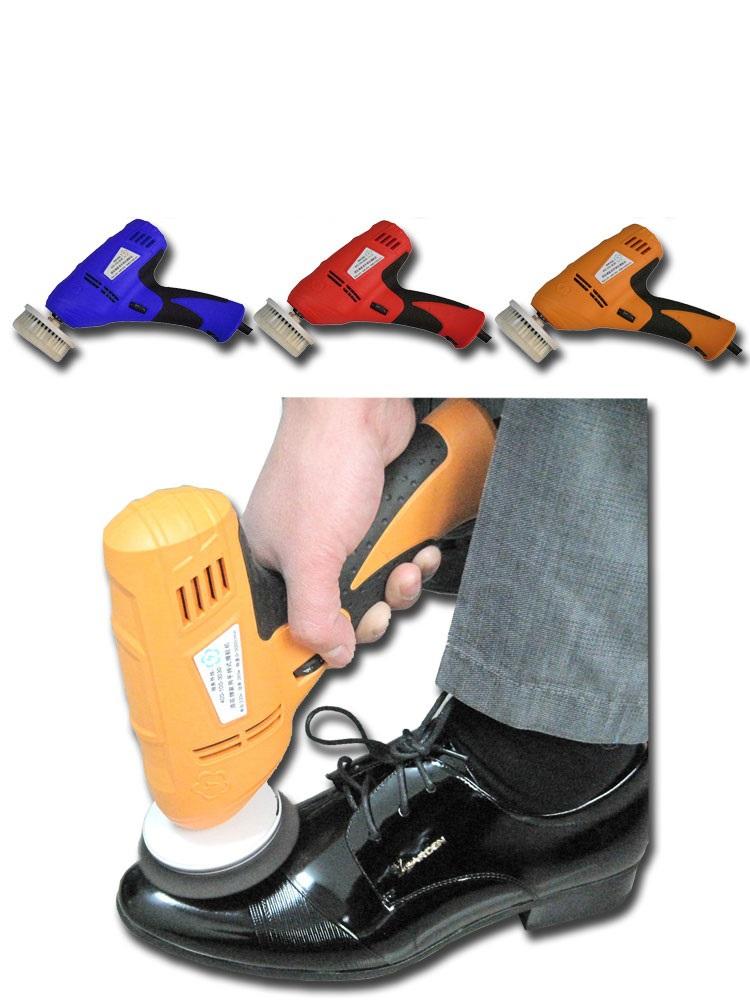 wholesale household shoe polisher electric mini hand-held portable Leather Polishing Equipment device automatic clean machine(China (Mainland))