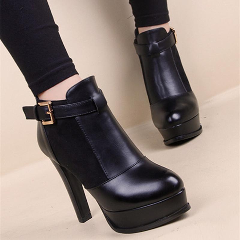 plus size 43 women boots 2015 fashion black bottom boots. Black Bedroom Furniture Sets. Home Design Ideas