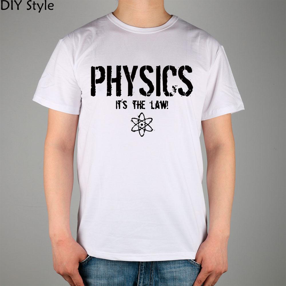 FUNNY PHYSICS S SCIENCE T-shirt cotton Lycra top 11038 Fashion Brand t shirt men new DIY Style high quality(China (Mainland))