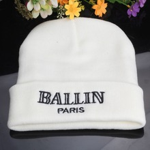 New Winter Brand  Beanie Women Men Diamond Beanies 2015 Knitted Skullies Bonnet Crochet Casquette Gorros Letter Fashion Hat