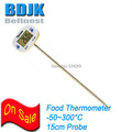 Digital Kitchen Thermometer with 15cm SS Probe to Test Food Temperature Instrument